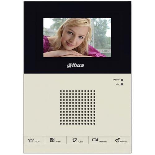 Monitor Videointerfon Dahua Vth1200cs  Ecran Lcd 4.3 Inch  Hand-free  5 Butoane