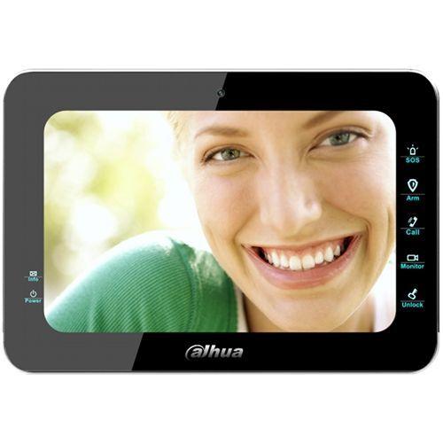 Monitor videointerfon Dahua VTH1500B, Ecran LCD 7 inch, Hand-Free, Butoane touch