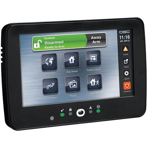 Tastatura Alarma Dsc Neo Touchscreen Black