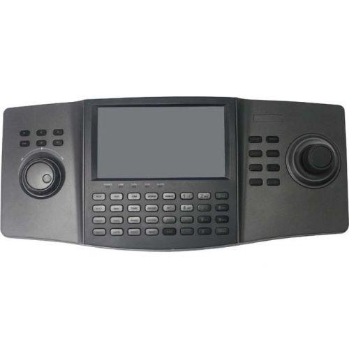 Accesoriu supraveghere Hikvision DS-1100KI, Controller IP; 3 axe; Controleaza pana la 256 echipamente IP