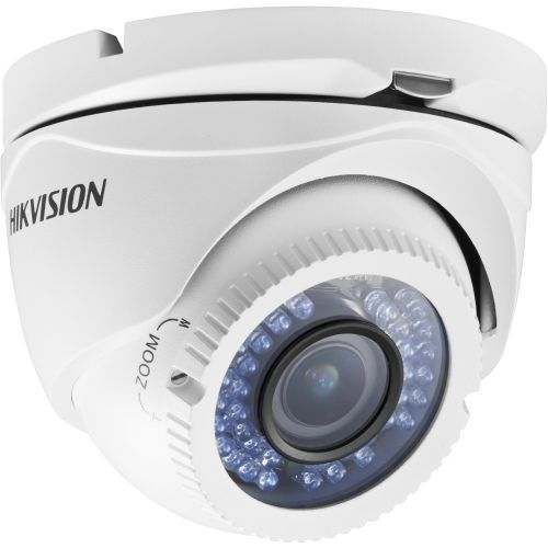 Camera Analogica Hikvision DS-2CE55C2P-VFIR3, CVBS, Dome, 720 TVL, 2.8 - 12mm, 42 LED, IR 40m, Ultra Low Light