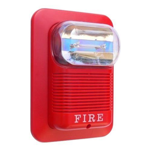 Accesoriu Detectie Incendiu Oem Sirena Incendiu Cu Flash  105db