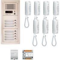 Interfon de birou/vila Aiphone GTA7F + 7 posturi interior GT-1D