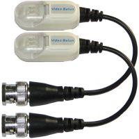 Accesoriu supraveghere PXW Set 2 videobaloane pasive SEKU-4002P/S, Prindere cabluri cu clip si protectie