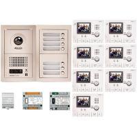 Kit Videointerfon Aiphone GTV7F + 7 posturi interior GT-1C-L