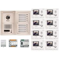 Kit Videointerfon Aiphone GTV8F + 8 posturi interior GT-1C-L