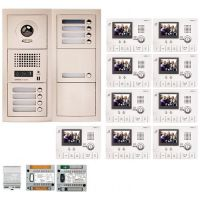 Kit Videointerfon Aiphone GTV9F + 9 posturi interior GT-1C-L