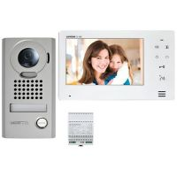 Kit Videointerfon Aiphone JOS-1V, Post exterior JO-DV + Monitor JO-1MD + Alimentare PS-1820D