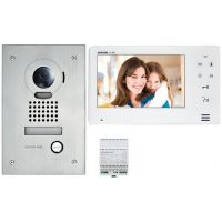 Kit Videointerfon Aiphone JOS-1F, Post exterior JO-DVF + Monitor JO-1MD + Alimentare PS-1820D