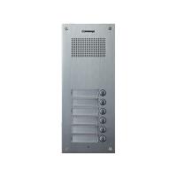 Post exterior audio Commax DR-6UM, 6 butoane, aluminiu