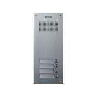 Post exterior audio Commax DR-4UM, 4 butoane, aluminiu