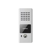 Post exterior audio Commax DR-2PN, un buton, aluminiu