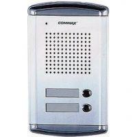 Post exterior audio Commax DR-2A2N, 2 butoane, aluminiu