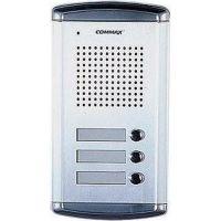 Post exterior audio Commax DR-2A3N, 3 butoane, aluminiu