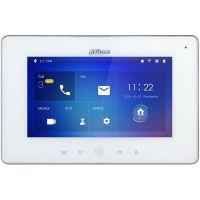 Monitor videointerfon Dahua VTH5221D(W), Ecran Touchscreen 7 inch, Wi-Fi, Alb