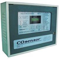 Centrala monoxid de carbon Cofem CCO1-4, 2 zone, Dubla ventilatie si iesire baterii