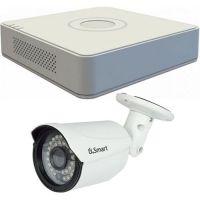 Sistem supraveghere analogic Hikvision DS-7104HGHI-F1, TVI, HD 720p, 1 camera Bullet UB-503, Exterior