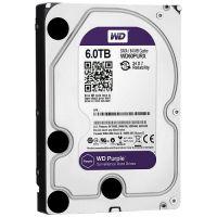 Hard Disk Western Digital Purple Surveillance 6TB SATA3 64MB
