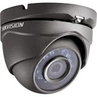 Camera Analogica Hikvision DS-2CE56D0T-IRM-G, TVI, Dome, 2MP, 2.8mm, 24 LED, IR 20m, Carcasa gri