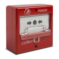 Buton conventional Cofem Manual incendiu PUCAR