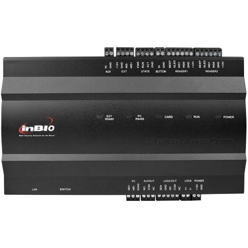 Centrala de control ZKAccess inBio-160, Biometrica IP, 1 usa bidirectionala, suporta  max. 4  cititoare