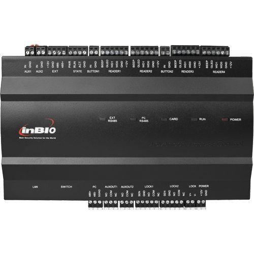 Centrala de control ZKAccess inBio-260, Biometrica IP, 2 usi bidirectionale, suporta 4 cititoare