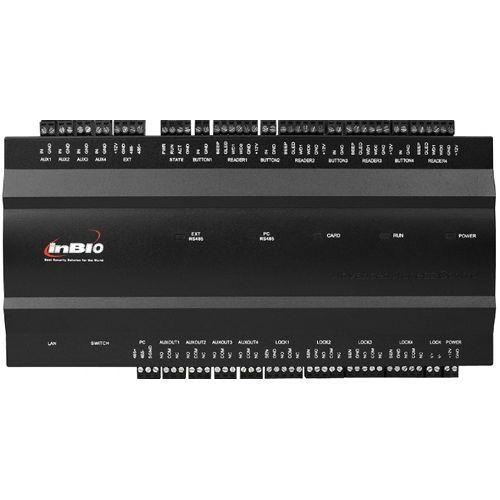 Centrala de control ZKAccess inBio-460, Biometrica IP, 4 usi bidirectionale, suporta max. 12  cititoare