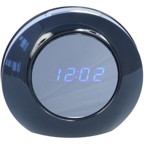 Camera Ascunsa si Dispozitiv Spionaj  SPY Camera video ascunsa in ceas de birou, Telecomanda
