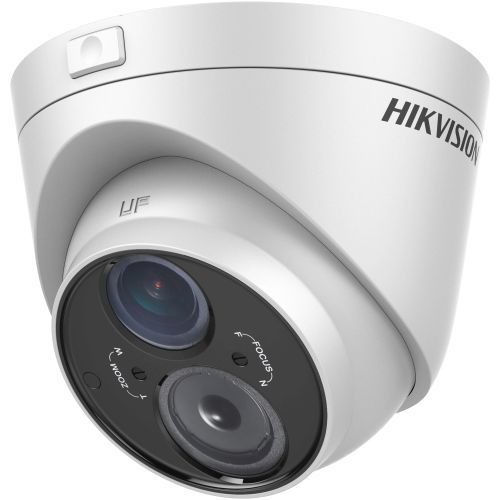 Camera Analogica Hikvision DS-2CE56C5T-VFIT3, TVI, Dome, 1MP, 2.8 - 12mm, EXIR 1 LED Array, IR 50m, Motion Detection, Ultra Low Light, UTC