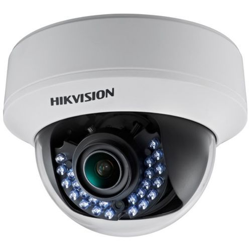 Camera de supraveghere Hikvision DS-2CE56D1T-AIRZ, TVI, Dome, 2MP, 2.8 - 12mm, 24 LED, IR 30m, Zoom motorizat, Motion Detection, Anti-flicker, 12V/24V