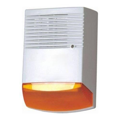 Sirena PARADOX HC-F6A, Exterior, Nivel zgomot 120 dB, Flash portocaliu