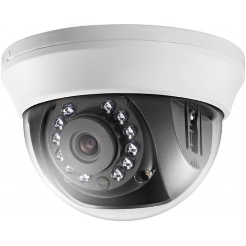Camera Analogica Hikvision DS-2CE56C0T-IRMM, TVI, Dome, 1MP, 2.8mm, 12 LED, IR 20m