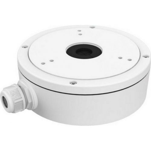 Accesoriu supraveghere Hikvision DS-1280ZJ-S, Doza conexiuni aluminiu pentru camera dome