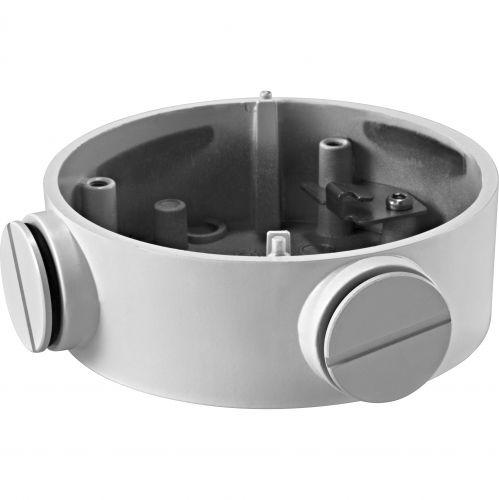 Accesoriu supraveghere Hikvision DS-1260ZJ, Doza conexiuni aluminiu pentru camera bullet