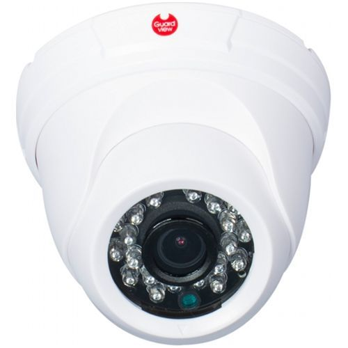 Camera Supraveghere Analogica Guard View GD52F1W, TVI/CVBS, Dome, 1MP 720p, 2.8mm, CMOS OV 1/4 inch, 24 LED, IR 20m, Carcasa plastic