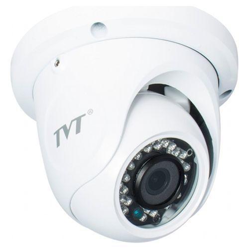 Camera de supraveghere TVT TD-7514TSL, TVI, Dome, 1MP 720P, CMOS OV 1/4 inch, 2.8mm, 30 LED, IR 20m, carcasa metal