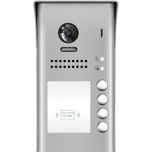 Post exterior videointerfon V-tech DT607 cu cititor ID, 4 butoane