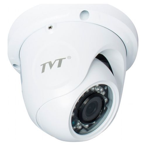 Camera Supraveghere Analogica TVT TD-7514ASL, AHD, Dome, 1MP 720P,  CMOS OV 1/4 inch, 2.8mm, 30 LED, IR 20m, Carcasa metal