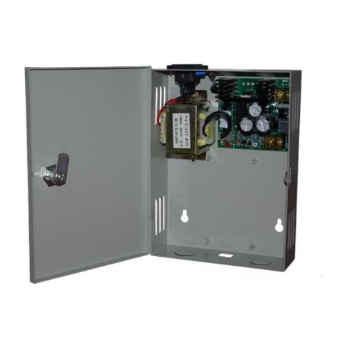 Accesoriu control acces Viontech WGJX-03, Cutie metalica WG tip 03 pentru control acces  cu sursa 30w
