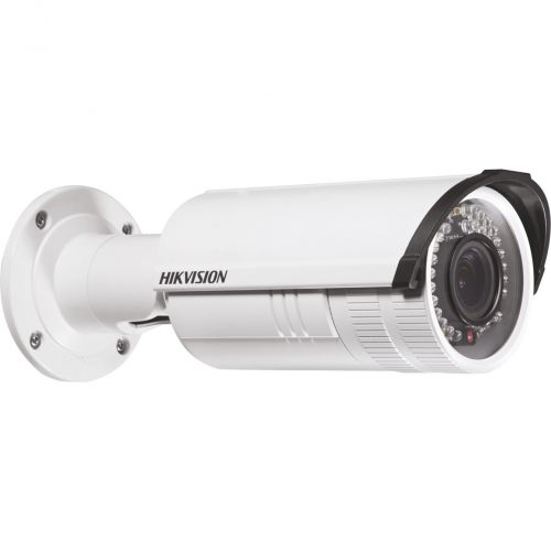 Camera IP Hikvision DS-2CD2642FWD-IS, Bullet, 4MP, 2.8-12mm, IR 30m, WDR 120dB, IP66, PoE, Audio/Alarma