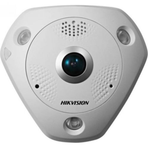 Camera IP Hikvision DS-2CD63C2F-IVS, Dome, CMOS 12MP, Fisheye