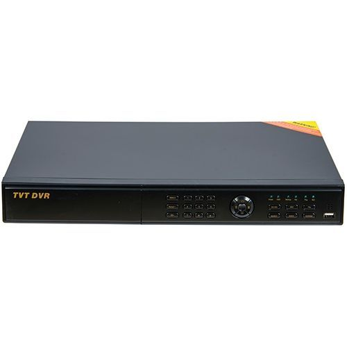DVR TVT TD-2716TE-C, Hibrid (CVBS/TVI/AHD/IP), 16 canale + 4 IP, SATA x 2