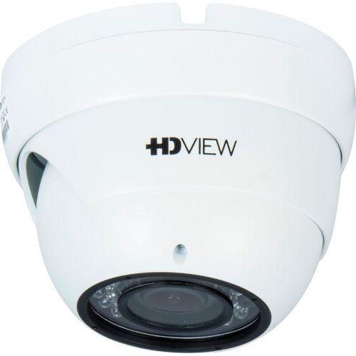 Camera Supraveghere Analogica HD VIEW AHD-0AVIR2, 4-in-1, Dome, 2MP 1080p, 2.8-12mm, CMOS Aptina 1/2.7 inch, 36 LED, IR 20m, Carcasa metal