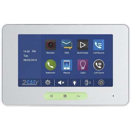 Monitor videointerfon V-tech DT37MG/TD7V2, Touch screen, 7 inch, compatibil seria DT