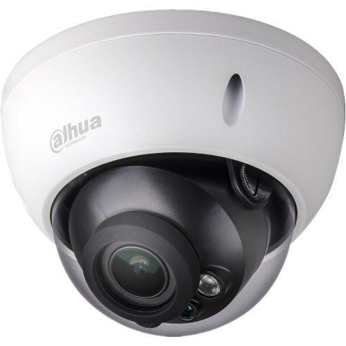 Camera de supraveghere Dahua HAC-HDBW1100R-VF, HD-CVI, Dome, 1MP, 2.7 - 12mm, EXIR 2 LED Arrays, IR 30m, D-WDR, Antivandal, Carcasa aluminiu