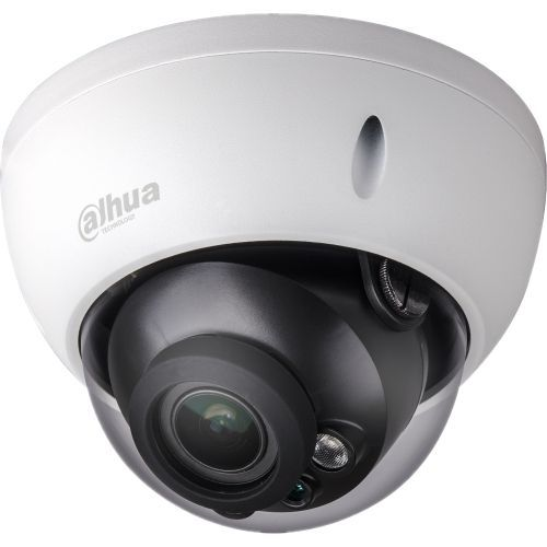Camera Supraveghere Analogica Dahua HAC-HDBW1200R-VF, HD-CVI, Dome, 2MP, 2.7 - 12mm, EXIR 2 LED Arrays, IR 30m, Antivandal, Rating IP67, Carcasa aluminiu
