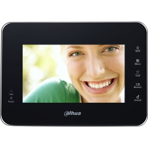 VTH1560B, LCD 7 inch, 5 butoane touchscreen, Negru