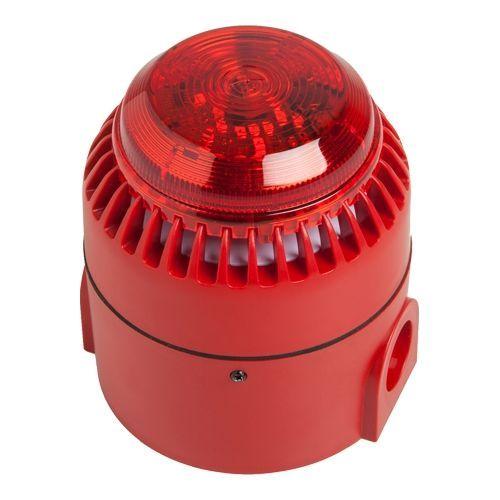 Sirena adresabila Cofem SIR24BL, Interior/Exterior, Semnal acustic/luminos