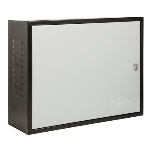 Accesoriu detectie incendiu Cofem Cabinet baterii C55Y, Negru/Gri