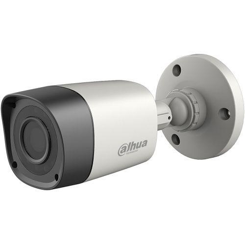 Camera de supraveghere Dahua HAC-HFW1000RM S2, HD-CVI, Bullet, 1MP, 2.8mm, 12 LED, IR 15m, Rating IP67, Carcasa metal